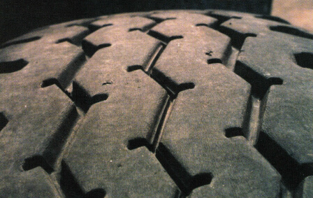 commercial truck tire tread depth