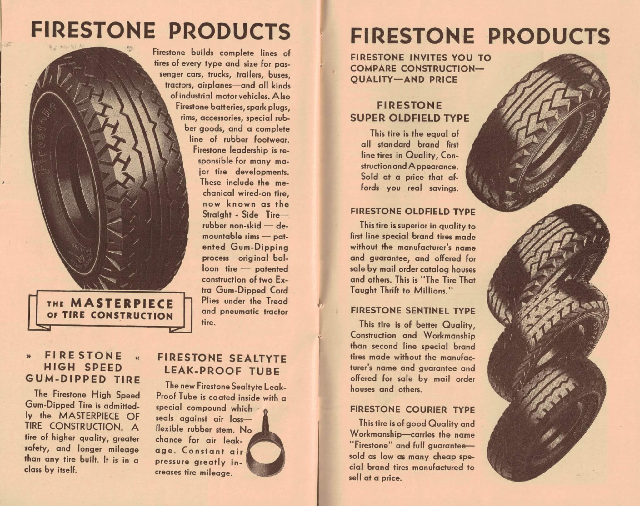 Early firestone ad
