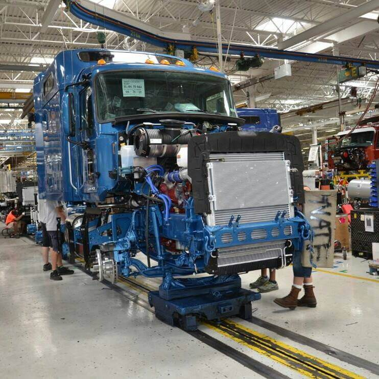 Mack Truck Assembly
