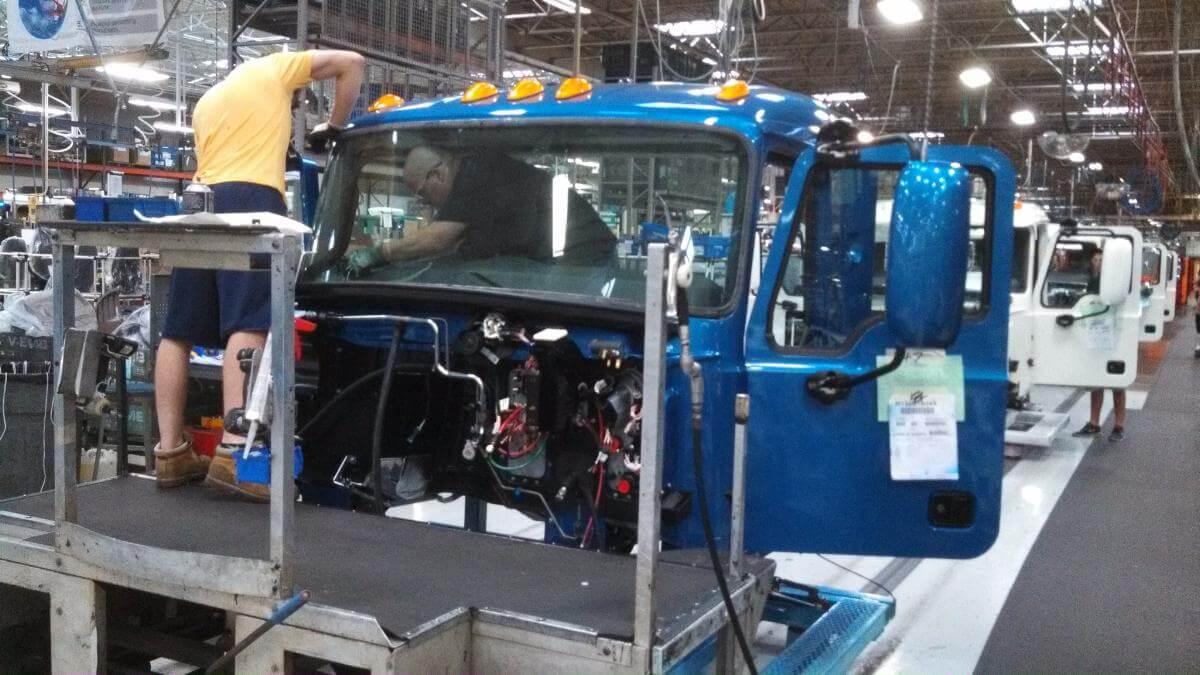 Mack Truck Plant Tour