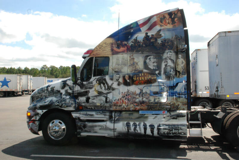 liberty and justice truck