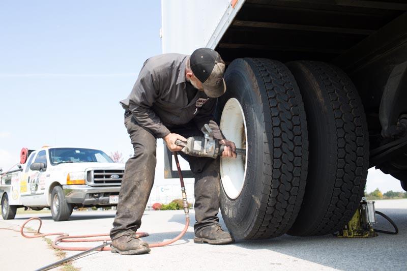 Truck tire repair near me
